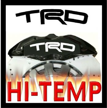 TRD Brake Caliper Decals / Stickers / Graphics Set